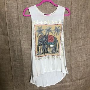 The Classic S Elephant Tank Top Boho Festival